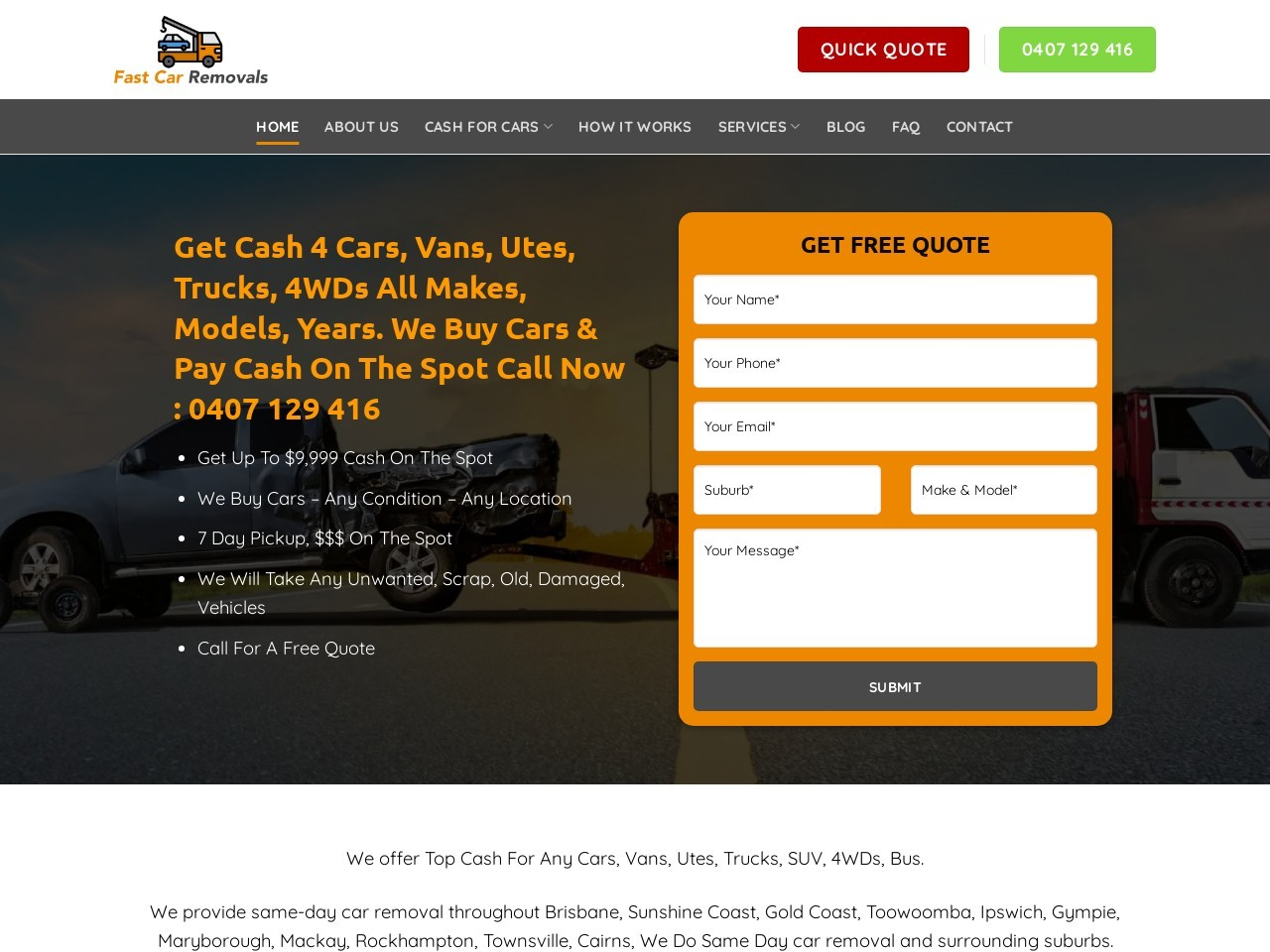 cash for cars gold coast best company