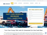 Free Car Removal Brisbane | Cash For Car Removal Brisbane
