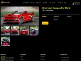 Camaro Rental Dubai | Camaro for rent in Dubai | Faster.Rent