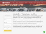 Best PIA cheap Domestic flights -Fatima travels