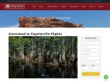 Best Flights from Islamabad to Fayetteville-Fatima travels