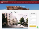 Cheapest Flights Ticket from Islamabad to Figari-Fatima travels