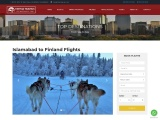 Best flights from Islamabad to Finland-Fatima travels