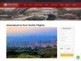 cheap Islamabad to Fort Smith Flights-Fatima travels