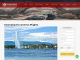Best Travel Packages and flight Deals from Islamabad to Geneva-Fatima travels