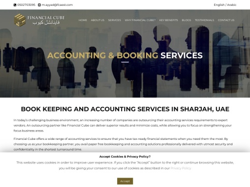 Accounting Services in Sharjah