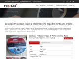 Leakage Protection Tape & Waterproofing Tape for joints and cracks