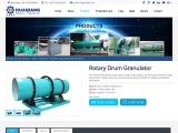 High Capacity NPK Fertilizer Rotary Drum Granulator