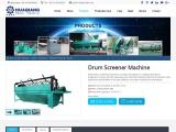 Drum Screener Machine | fertilizer screening machine