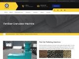 Flat Die Pelleting Machine – organic fertilizer granulating machine