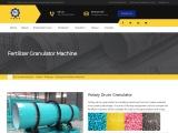 Fertilizer Rotary Drum Granulator Machine – Huaqiang