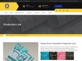 Fertilizer Rotary Drum Granulation Production Line