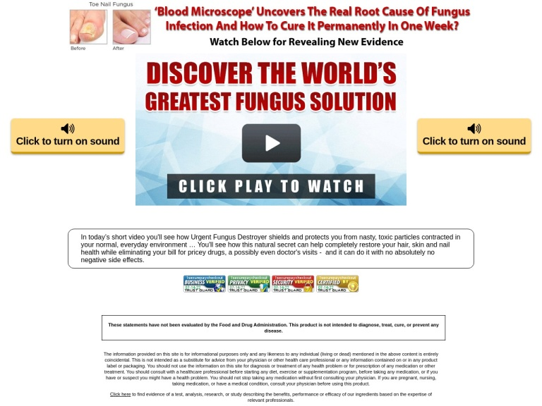 Urgent Fungus Destroyer screenshot
