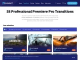 Premiere Pro Transitions   53 Smooth & Elegant Transitions