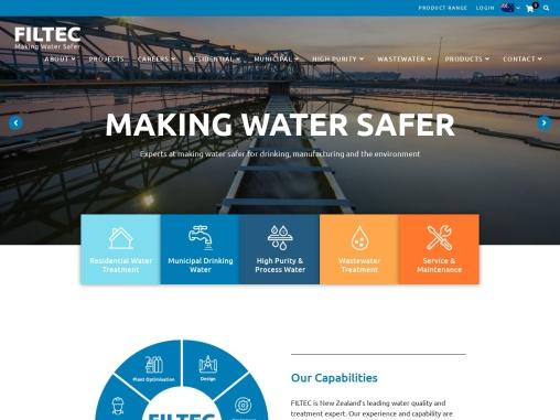 Filtec – Wastewater Treatment NZ