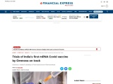Trials of India's first mRNA Covid vaccine by Gennova on track