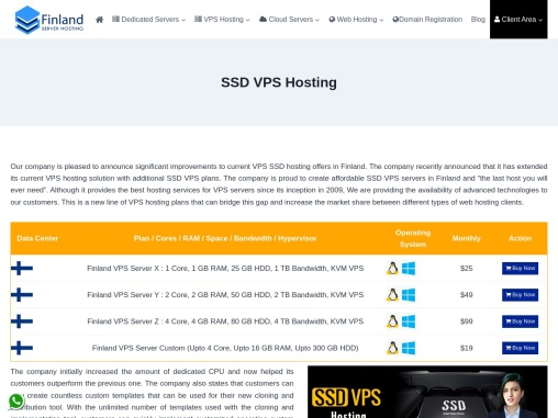 SSD VPS Hosting with High Quality Services