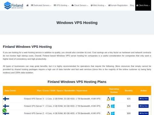 Adopt Windows VPS Server Plans