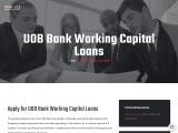UOB working capital loan
