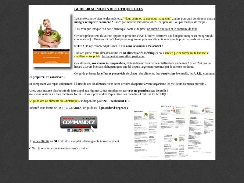 les 48 aliments cles dietetiques