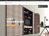 Loft Wardrobes London   Fitted Wardrobes Manufacturer