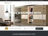 Sliding Wardrobes With Light   Luxury Wardrobes Design London