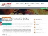 Diploma in Fire Technology & Safety Management