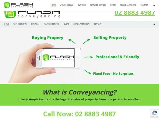 Conveyancing Sydney   Flash Conveyancing   Best Property Transaction