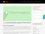 Automated Website testing with Ghost Inspector