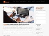 Effective Mobile App Testing Techniques