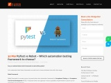 PyTest vs Robot – Which automation testing framework to choose?