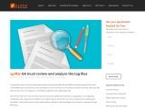 QA must review analyze log files