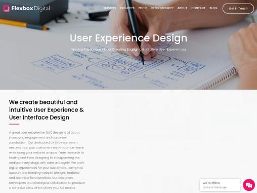UI UX Design Agency Melbourne | Flexbox Digital