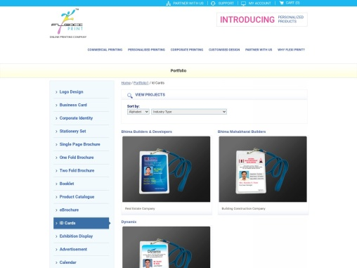Online Id Cards printing, Upload or use free Id Cards designs to print