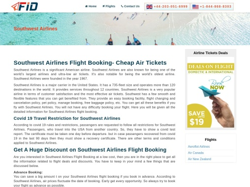 Southwest Airlines Manage Booking +1-844-868-8303
