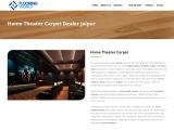 Home Theatre Carpet Company in Jaipur   Flooring World