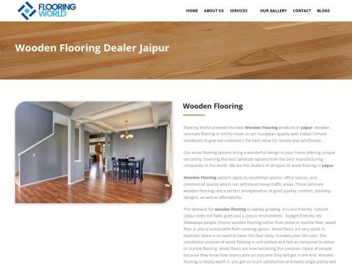 Wooden Flooring Company in Jaipur | Flooring World