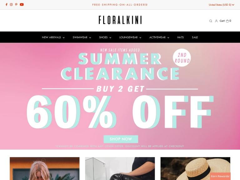FloralKini Coupon Codes
