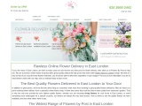 Flowers by Post in East London
