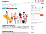 Spirit Airlines Group Travel Reservations