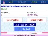 Bionizer Reviews via Houzz on FM Classifieds
