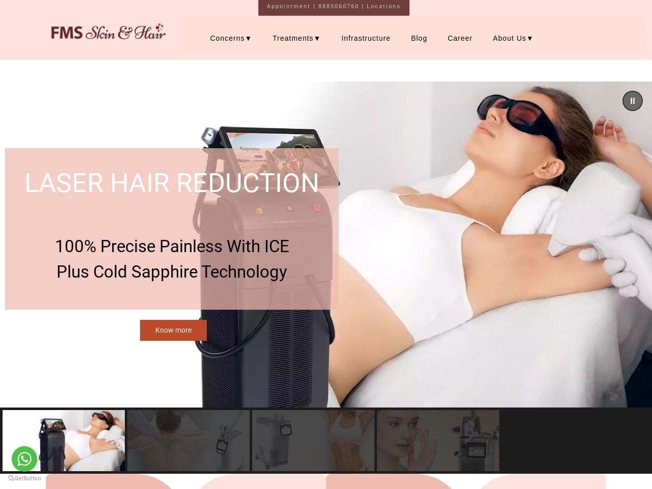 Best Permanent Laser Hair Removal In Kondapur Hyderabad Telangana India
