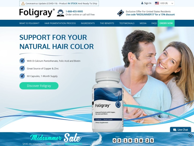 Foligray screenshot