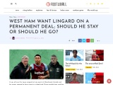 WEST HAM WANT LINGARD ON A PERMANENT DEAL; SHOULD HE STAY OR SHOULD HE GO?