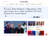 Preview: Real Madrid Vs Barcelona – Prediction, Team News and More