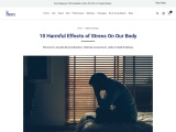 10 Harmful Effects of Stress On Our Body