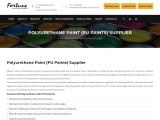 PU Paint Supplier in Goa – Fortune Procurators