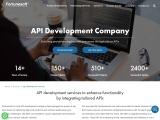 API development company | API Integration Services