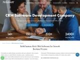 CRM Development Company | Custom CRM Development Services