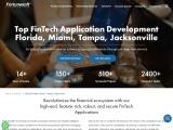Fintech software development company in Miami Tampa   Jacksonville